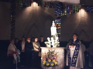 Poświęcenie Figury  Najświętszej Maryi  Panny  Fatimskiej