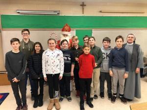 Polski Program Katechetyczny - Wizyta Sw. Mikolaja 2019