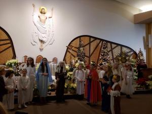 Jaselka Grupy Wicherki, Msza Sw. Chrzest Panski, Modlitwa Grupy Koronkowej-Styczen 2020