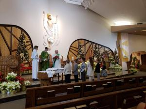 St. Blaise Feast Day Blessing of the Throats, Family Mass Blessing of First Communion Candles, Welcoming New Altar Servers and Candidates-February 2020